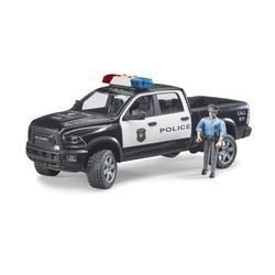 Véhicule de Police avec figurine