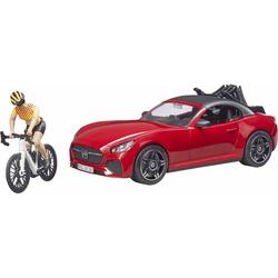 Véhicule Roadster et ses accessoires