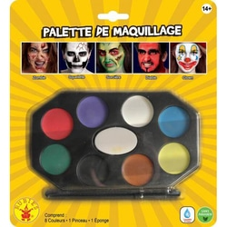 Palette complète de maquillage