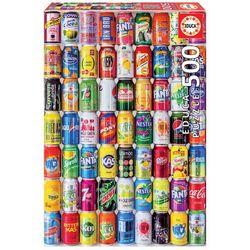 """Puzzle 50 pièces """"Canettes de soda"""""""