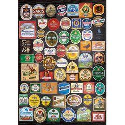 Puzzle 1500 pièces – Étiquettes de bières