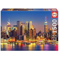 Puzzle 1500 pièces Manhattan de nuit