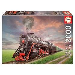 Puzzle locomotive 2000 pièces