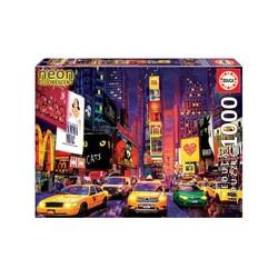 Puzzle 1000 pièces – Times Square, New York « Néon »