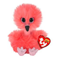 Peluche Beanie Boo's Franny le flamant rose 23 cm