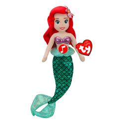 Peluche musicale Ariel 40 cm - La petite sirène