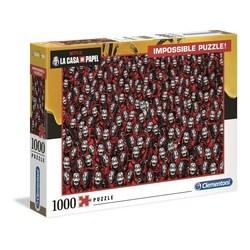 Puzzle 1000 pièces - Impossible La casa de Papel