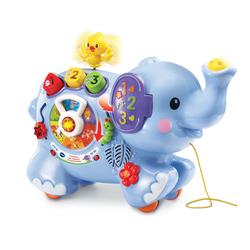 Jouet à tirer - Trompette éléphant des découvertes