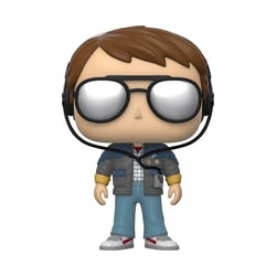 Figurine Marty with Glasses 958 Back to the Future Funko Pop Movies