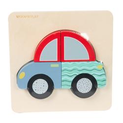 Assortiment de petits puzzles hibou, voiture et papillon