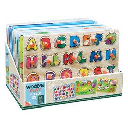 Puzzle en bois 30x22 cm en assortiment