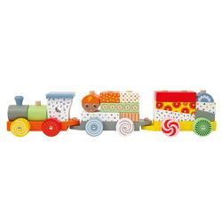 Locomotive et ses 2 wagons