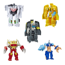 Figurine Robot action 2 en 1 12 cm - Transformers Cyberverse
