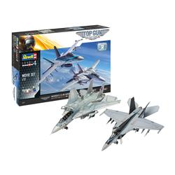 Coffret cadeau maquettes avions Top Gun Movies