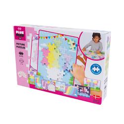 Big puzzle Pastel Plus Plus 60 pièces