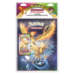Pack portfolio et booster Pokémon Voltage Eclatant