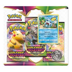 Cartes pack 3 boosters Pokémon EB04 - Épée et Bouclier
