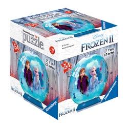 Puzzle 3D rond 54 pièces - La Reine des Neiges 2