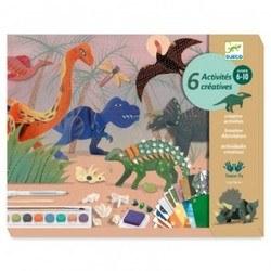 Loisirs créatifs Le monde des dinosaures