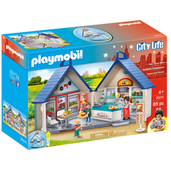 70111 - Playmobil City Life - Restaurant Transportable