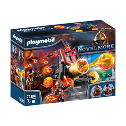 70394 - Playmobil Novelmore - Catapulte à lave des Burnham Raiders
