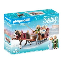70397 - Playmobil Spirit - Calèche d'hiver