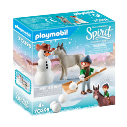 70398 - Playmobil Spirit - La Mèche et Monsieur Carotte en hiver