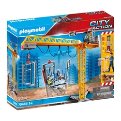 70441 - Playmobil City Action - La grue radio-commandée