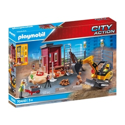 70443 - Playmobil City Action - Mini-pelleteuse et chantier