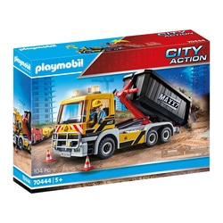 70444 - Playmobil City Action - Le camion benne