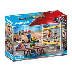 70446 - Playmobil City Action - Ouvriers avec échafaudage