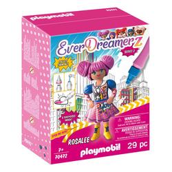 70472 - Playmobil Everdreamerz Le Monde de la BD - Rosalee