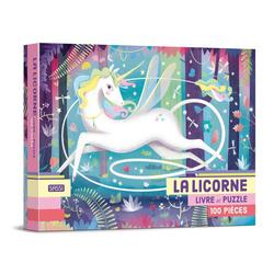 Livre et Puzzle Licorne