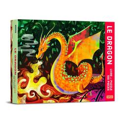 Livre et puzzle Dragon
