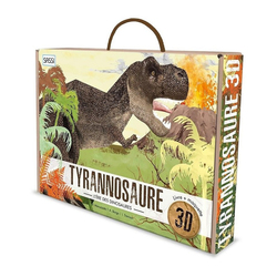 Livre et maquette 3D Tyrannosaure