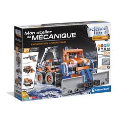 Mon atelier de mécanique-Exploration antarctique