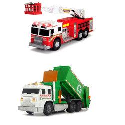 Camion pompier-poubelle