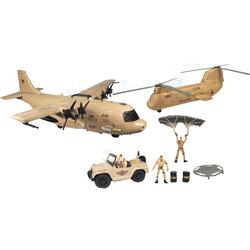 Jet militaire avec sons et lumières