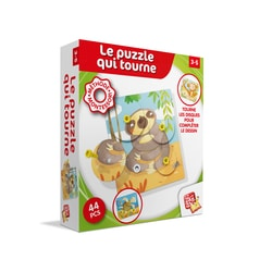 Le puzzle qui tourne Montessori