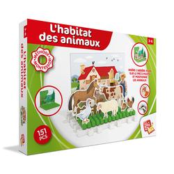 Puzzle ferme Montessori