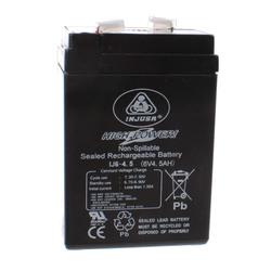 Batterie Rechargeable High Power 6V 4,2 AH noir