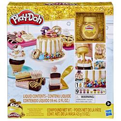 Pâte à modeler - Pâtisseries dorées Play-Doh