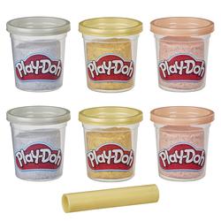 Pâte à modeler - 6 pots métalliques Play-Doh