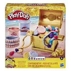 Pâte à modeler - Coffre au trésor Play-Doh