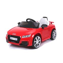 Voiture électrique Audi TT 12V rouge