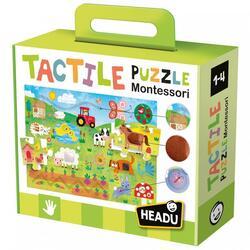 Puzzle Montessori tactile