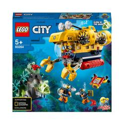 60264 - LEGO® City - Le sous-marin d'exploration