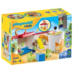 70399 - Playmobil 1.2.3 -  Garderie transportable