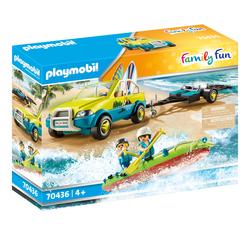 70436 - Playmobil Family Fun - Voiture avec canoë