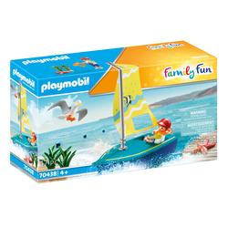 70438 - Playmobil Family Fun - Enfant avec voilier